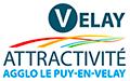 Velay Attractivité – Attractivité en Auvergne Rhône Alpes – Haute-Loire – Le Puy-en-Velay Logo