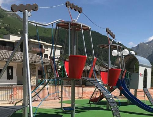 Des jeux extérieurs pour enfants made in Velay…
