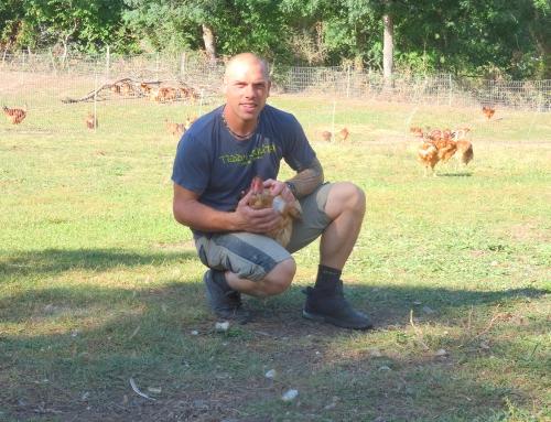 Anthony Coffy : Des volailles d'exception dans le Velay !