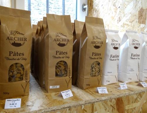 La Ferme Archer fabrique des pâtes artisanales en Velay
