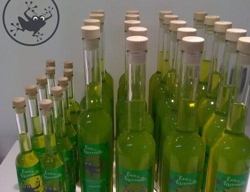 L'eau de grenouille donne des couleurs aux liqueurs du Velay