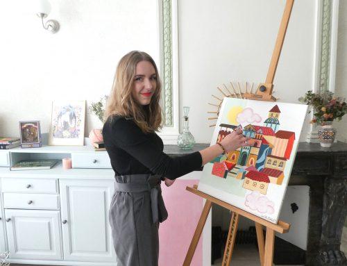 Lucile Filhol affiche les plus belles couleurs du Puy-en-Velay
